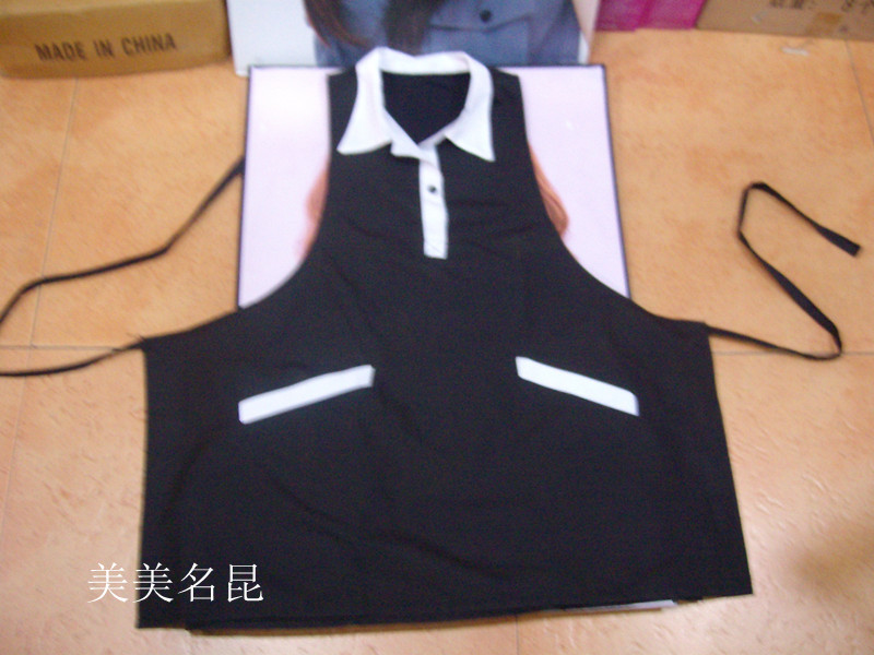 071988 hairdressing supplies new sleeveless aprons personal care salons assistant wash overalls service technician