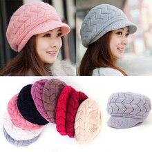 F Winter Beanies Knit Women's Hat Winter Hats For Women Ladies Beanie Girls Skullies Caps Bonnet Femme Snapback Wool Warm Hat