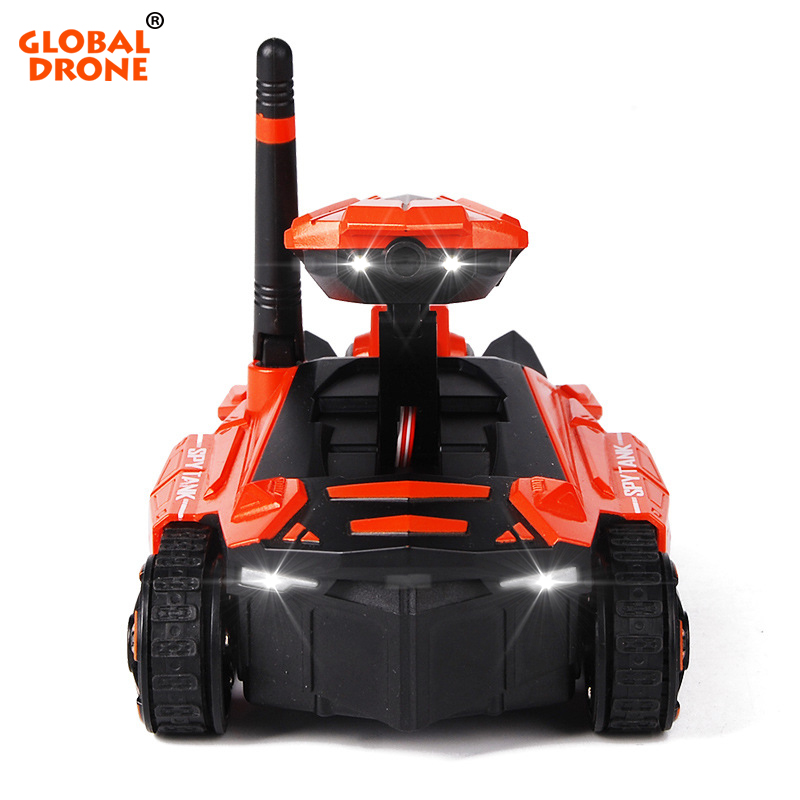 Global Drone Smart RC Tank Wifi FPV Camera App Control Voiture Telecommande Robot Toys Tank RC