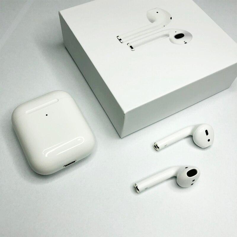 Écouteurs Bluetooth Tradeline TWS i80 W1 Chip Pop Up écouteurs avec étui de charge casque taille 1:1 écouteurs pour tous les téléphones intelligents