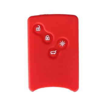 Cover in silicone telecomando/chiave per Renault Clio Logan Megane 2 3 Koleos Scenic  1