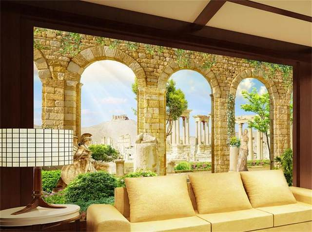 Online Shop 3d Custom photo mural 3d wallpaper Greek ancient Roman ...