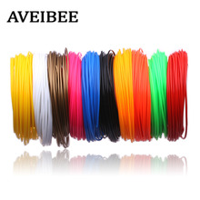 Aveibee 100 Meters 10 Colors 1 75MM PLA Filament Materials For 3D Printing Pen Threads Plastic