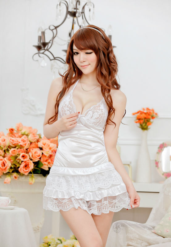 2017 New Arrival Fashion Sexy Women Nightgown,Hot Sale For ladies for summer,autumn Sleepwears freeshipping