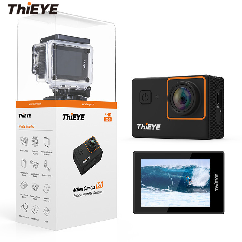 лучшая цена THiEYE I20 Action Camera 1080P / 30fps 2.0
