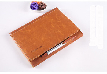 A5 Creative Leather Loose Page Notebook Multifunctional Business Office Notebook Private Handbook For College Students for asus notebook motherboard b53e b53e s model 100 page 2 page 4