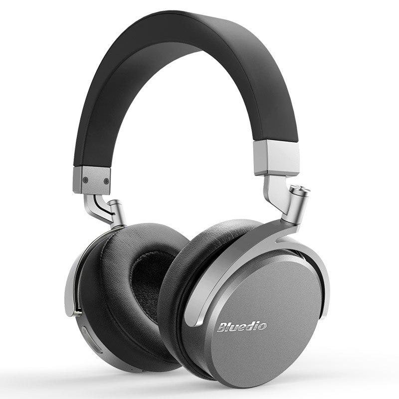 Original Bluedio Vinyl Premium Wireless Bluetooth Headphones Dual 180 Degree Rotation Design On The Ear Bluetooth