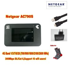 Unlocked Aircard AC790s 4G Mobile Hotspot Sierra Wireless LTE CAT6 300M Portable WiFi Router 4G modem