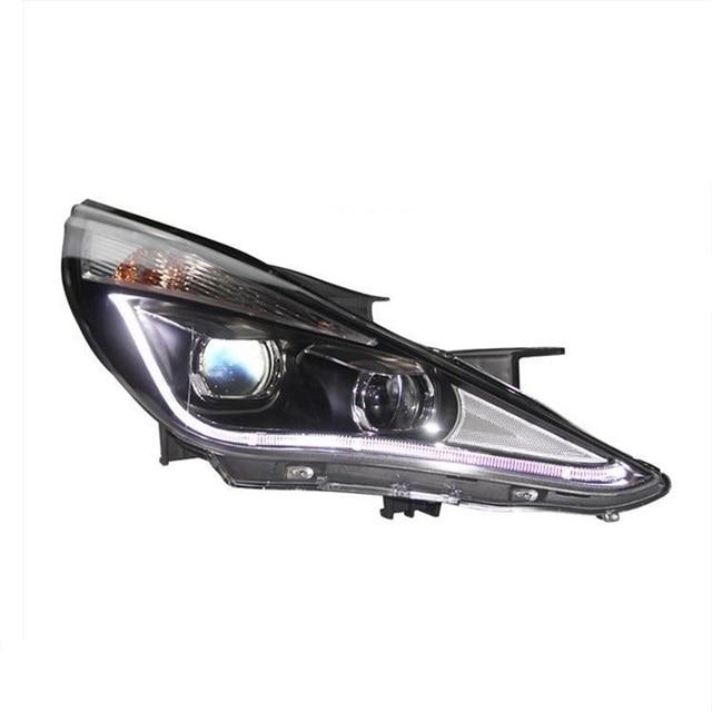 Neblineros Para Automobiles Assembly Cob Led Auto Assessoires Car Lighting Headlights Front Fog Rear Lights For Hyundai Sonata