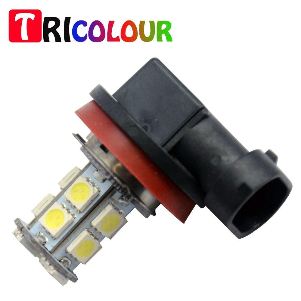 Tricolour Pcs H H B Smd Led V Headlight Fog Light Bulb Front For Toyota Tacoma