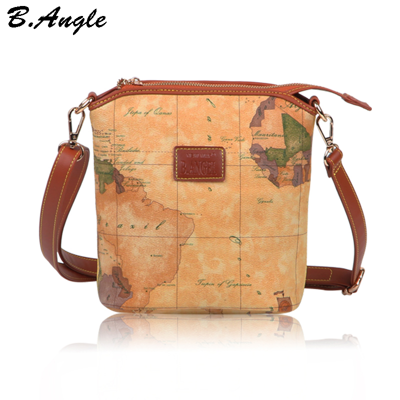 Compare Prices on Leather Map Crossbody Online ShoppingBuy Low