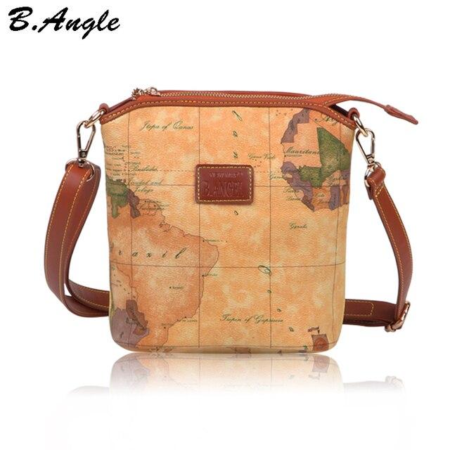 2016 stars war map message fashion high quality men messenger bags men bag leather handbags crossbody bag shoulder bag world map