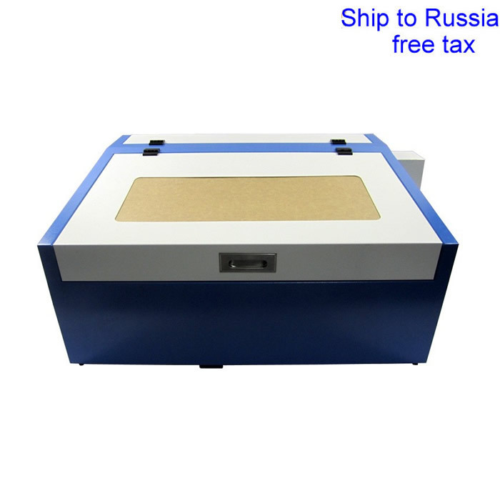 3040 50W CO2 laser cutting machine 50W laser tube honey comb rotary axis 3040 co2 laser engrave machine laser marking machine cut plywood 50w laser free shipping