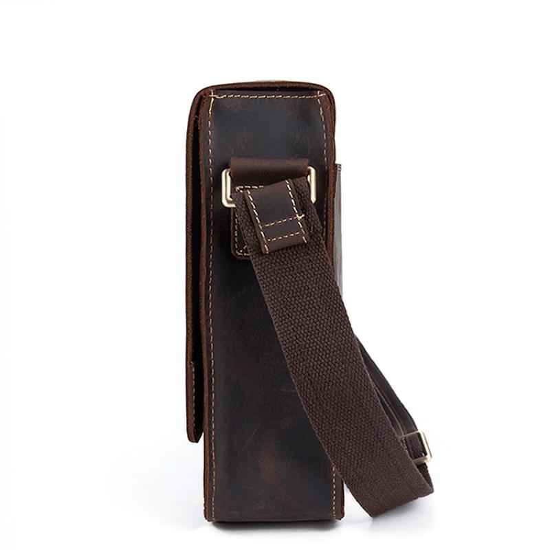 Image 3 - WESTAL genuine leather men's shoulder bag male satchels handbag bussiness document messenger bag men's crossbody bags for men-in Crossbody Bags from Luggage & Bags