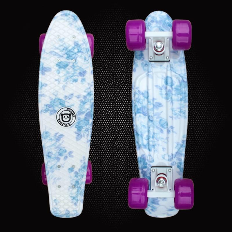 Children's Scooter Mini Cruiser Peny Board Skateboards Printed Skateboard Complete Longboard Deck Skate Board Fish Board