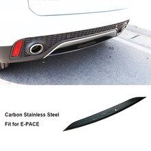 Решетка переднего гриля из нержавеющей стали, крышка бампера, уплотнительная прокладка аксессуары для отделки подходит для Jaguar E-PACE