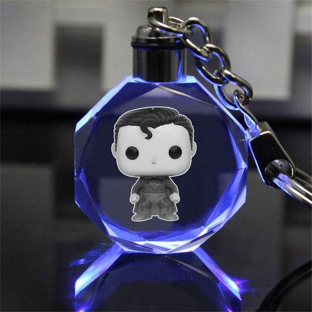 Аниме брелок светодиодный кристалл Гарри Поттер Хогвартс  1