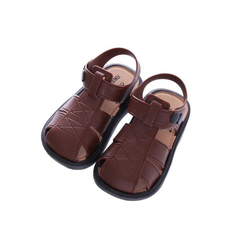 Baby Soft Shoes Boys Sandals 2018 New Summer Girls Beach wear for Kids Shoes Boys Shoes Baby Sandals Toddler Kids Sandals 2 Year