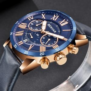 Image 4 - BENYAR 2019 модные спортивные мужские часы с хронографом, лучший бренд, Роскошные водонепроницаемые военные кварцевые часы, мужские часы