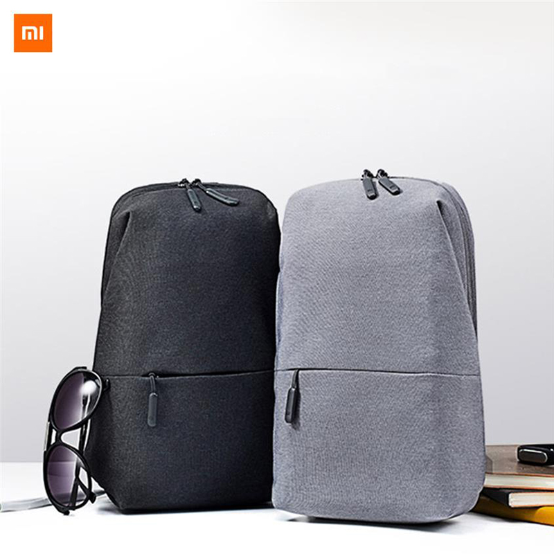 Original nbsp Xiaomi Backpack Chest Bag  Fashion Leisure Bags Travel Urban Bag 200 100 400mm For Men Women Small Size
