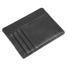 Colorful Genuine Leather Fashion Style Mens Women Card Holder Money ID Coin Pocket R-8102K/M/D/H