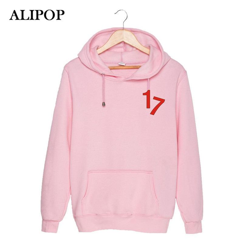 ALIPOP KPOP Korean Fashion SEVENTEEN 17 Member Love Letter Album Cotton Hoodies Clothing K-pop Pullovers Sweatshirts PT085