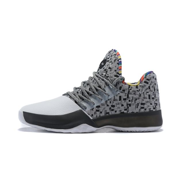 newest bc440 3e602 Mahadeng Basketball Shoes boost Harden Vol.1 Black History Month BY3473  Sports sneakers Size 39-46