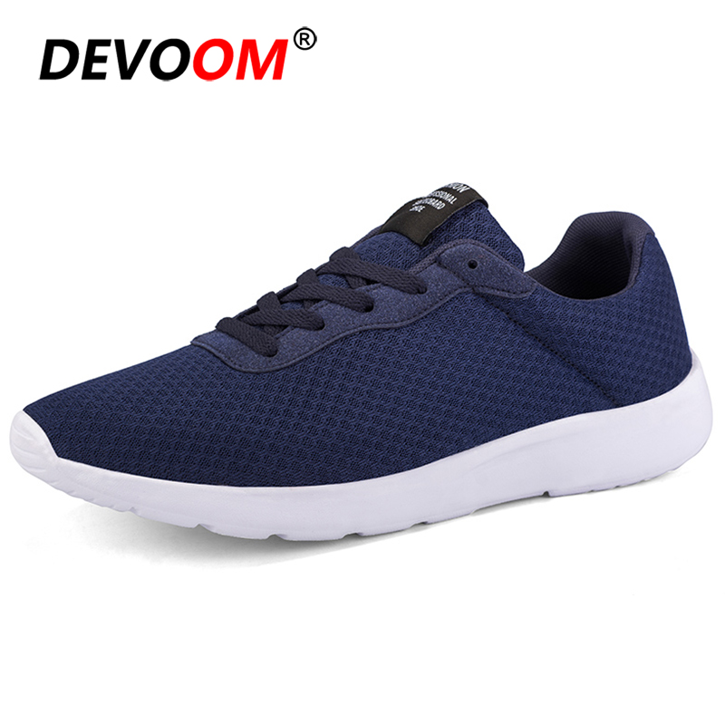 New 2019 Fashion Men Casual Shoes Spring Summer Breathable Air Mesh Men Sneaker Big Size 47 Sneakers For Men Chaussures Hommes