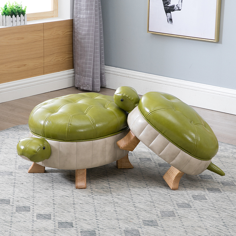 Möbel Massivholz Hocker Kreative Schildkröte Hocker Leder Sofa Hocker Fuß Hocker Test Schuhe Hocker Wohlhabende Glück Tür ändern Schuh Bank