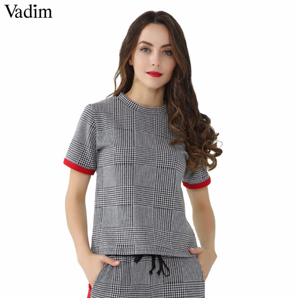 12c7f5504cdf Buy shirt women plaid and get free shipping on AliExpress.com