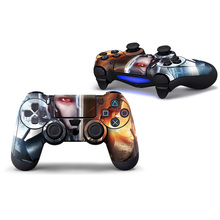 Skins para PS4 Controller-Decalques para Playstation 4 Jogos-adesivos Capa para PS4 Play Station Fino Quatro Controladores de pele vara