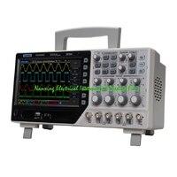 2017 Лидер продаж новый продукт Hantek DSO4204C цифровой осциллограф 4CH 200 МГц с 1CH Arbitary/функция генератор сигналов