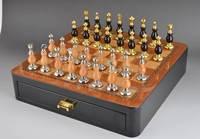 Изысканный Шахматный набор высокого качества украшения мебели с нескладной шахматная доска забавная игра спортивные развлечения