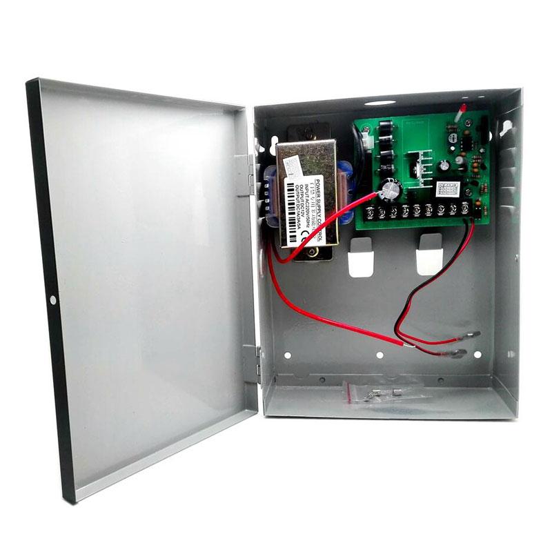 Gate Control 12V 3A 5A Power Supply Controller Backup Power Box for Entrance Guard Transformer Rear
