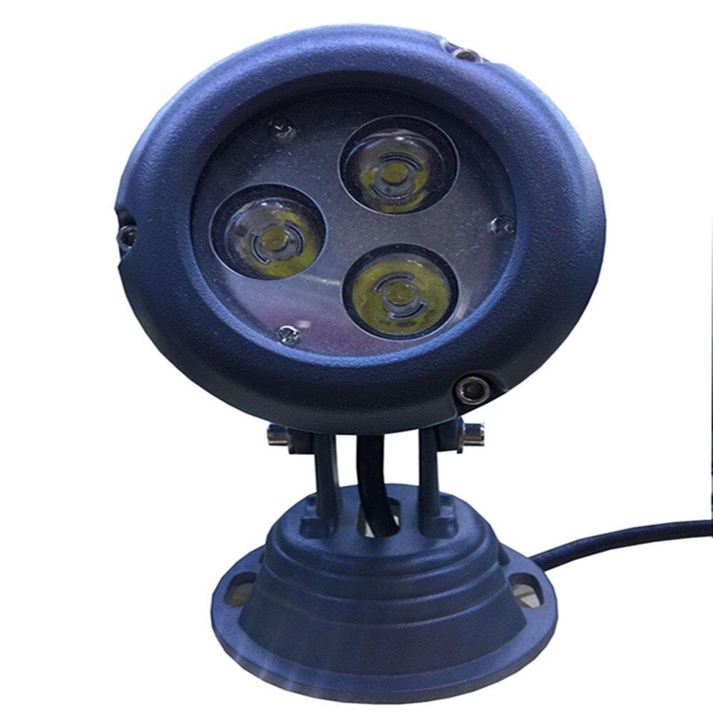 3pcs 1W white LED 220V 110V Outdoor lighting waterproof IP65 Wall lamp Garden la