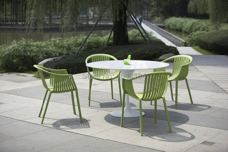 Stacking Plastic Garden Furniture Rattan Style Outdoor Chair In Chairs From On Aliexpress