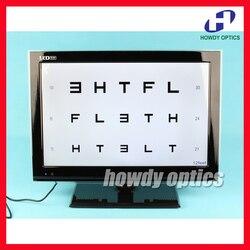 Neue ankunft 19 LED sehschärfe grafik Breite array der charts Mirroring fähigkeit