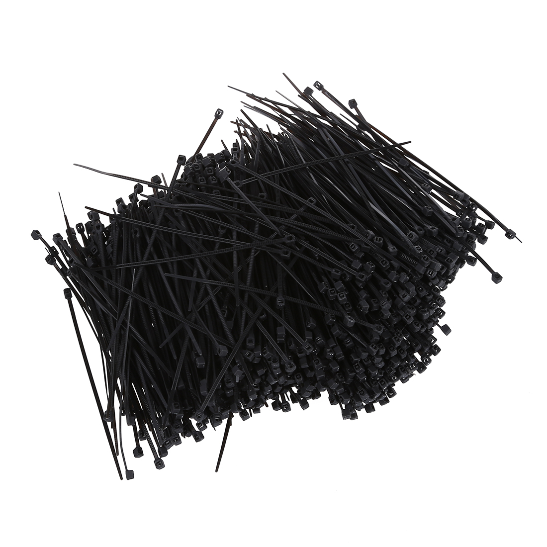 (Top sell)1000 Pcs Black nylon Cable Zip Tie Fasten Wrap 95mm x 2mm