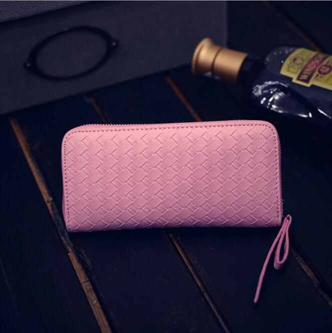 carteira de moda carteira móvel Tipo de Estampa : Sólida