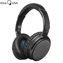 iDeaUSA V201 Active Noise Cancelling Over Ear Bluetooth Wireless Headphones with aptX HiFi Stereo Sound upto 25 Hours Playback