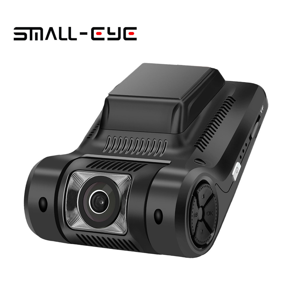 SMALL-EYE Dash Cam Car Dvr Recorder Camera with WiFi,FHD1080P Wide-Angle Lens, Built-In G-Sensor WDR Loop Recording Night Vision mini car camera dual lens car dvr dash cam hd 1080p 170 wide angle with g sensor wdr loop recording and night vision