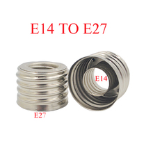 Bulb-Accessories Socket-Plug-Adapter-Lighting Lamps-Holder E27-To-E14-Adapter Hghomeart