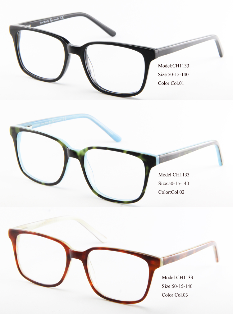 eye wonder wholesale men black blue burgundy retro eye glasses frames