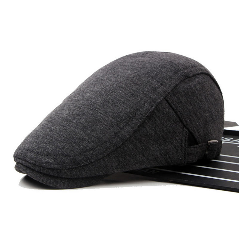 Casual Mens Womens Duckbill Ivy Cap Golf Driving Flat Cabbie Newsboy Beret Hat 5 colors