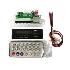 Image 5 - AIYIMA MP3 Decoder Audio Board Musik Player Blau Led anzeige 5W * 2 Verstärker Bluetooth Dekodierung AUX USB SD karte FM Radio