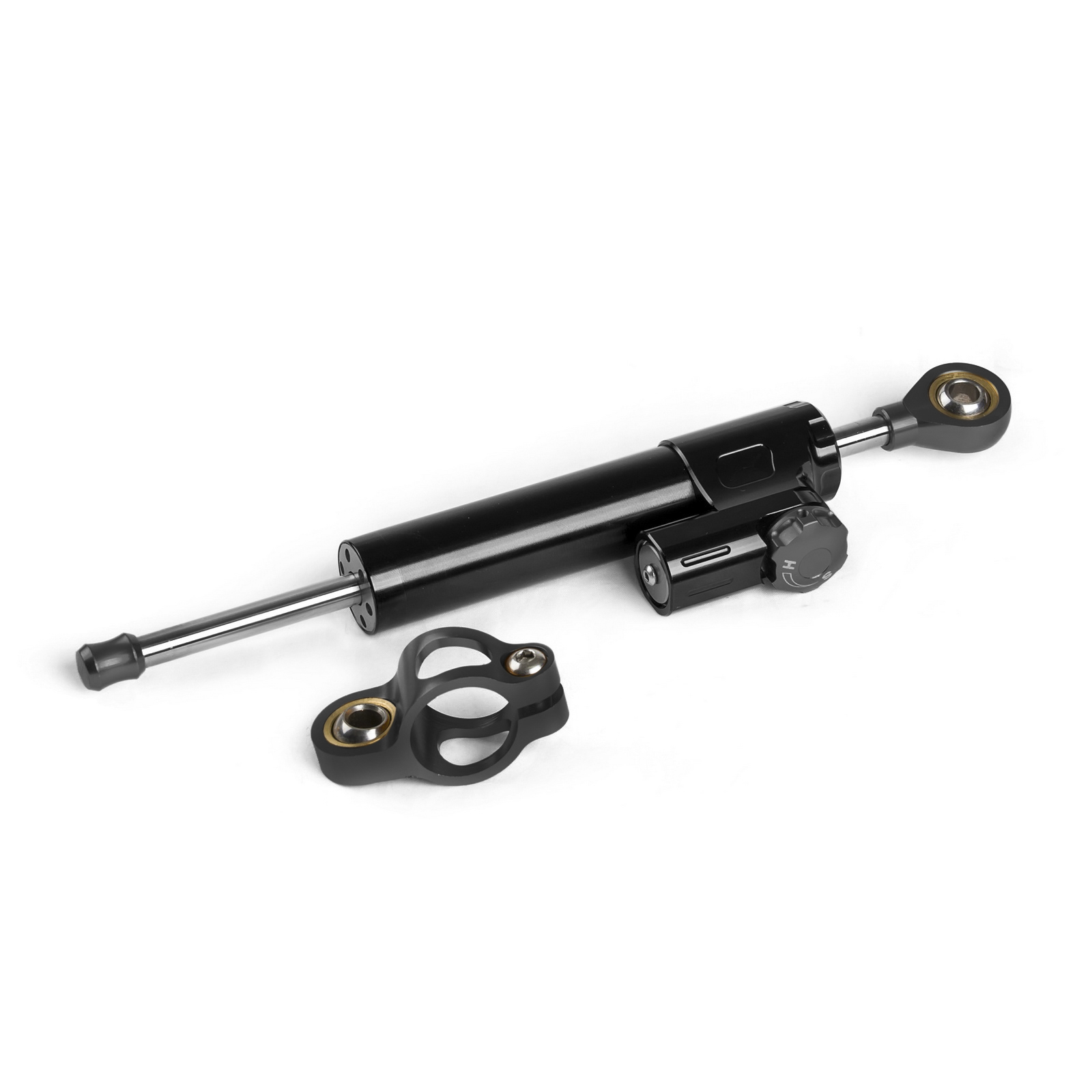 New Black CNC Billet Universal Motorcycle Adjustable Steering Damper Stabilizer For Yamaha Honda Suzuki Kawasaki and so on