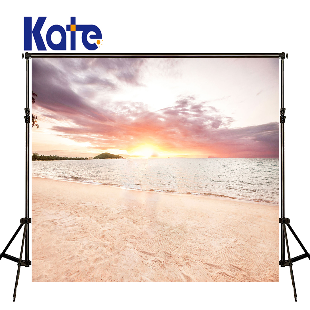 KATE Photo Backdrop Beach Baby Background Sea Scenery Wedding Backdrops Clouds Photography Backdrops Praia Photo for Children kate photo background black and white striped backdrop wedding backdrops children photo background for photo studio