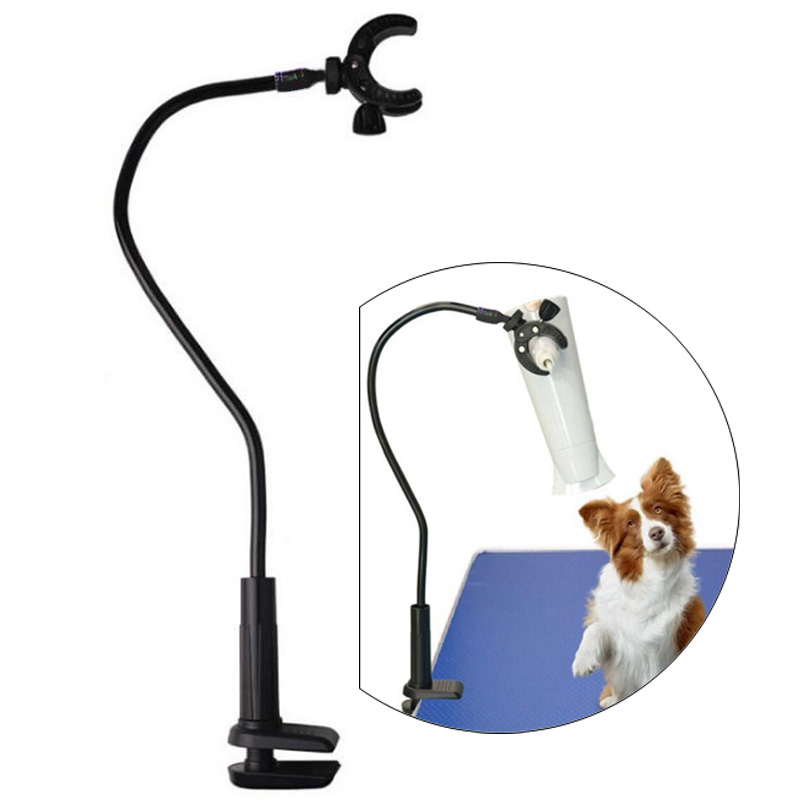 Dog Grooming Table Pets Bathing Beauty Hair Dryers Mounting Bracket Clip,360 Degree Adjusted Aluminum-magnesium alloy  BracketDog Grooming Table Pets Bathing Beauty Hair Dryers Mounting Bracket Clip,360 Degree Adjusted Aluminum-magnesium alloy  Bracket