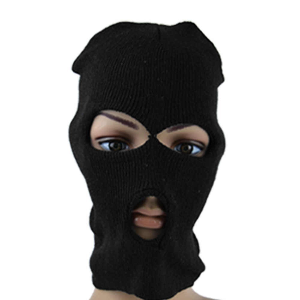 للجنسين شتاء دافئ تزلج الدراجات XS كامل الوجه قناع غطاء الرقبة الحرس وشاح درع