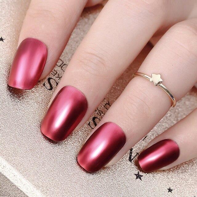 Tienda Online Nacido bonito efecto espejo esmalte de uñas rojo ...